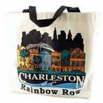 Custom Natural Canvas Tote w/Gusset (13