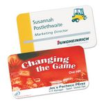Custom Permanent Event Name Badges with Slot, 2.95