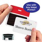 Custom Blank Inkjet-Printable Expiring Badge Front Part, Rolls