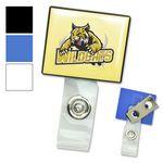 Square LogoClip™ Badge Holders