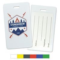 Semi-Rigid Vinyl Luggage Tag Holders