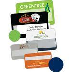 Custom Selfit Multiline Reusable Name Badges, magnetic fastener, 3