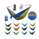 Custom Foldable Camping Hammock w/ Carry Bag