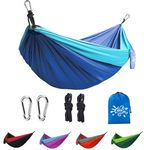 Custom Portable Hammock W/Pouch & Tree Ropes