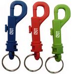 Custom Plastic Bolt Snap Hook Key Holders