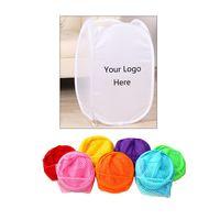 Polyester Folding Mesh Laundry Basket / Bag