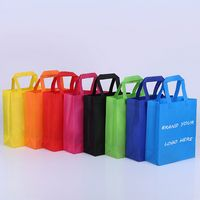 Economical Silkscreen Non-Woven Tote Bag