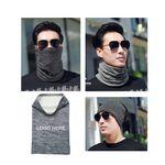 Multi-Purpose Custom Elastic Fleece Head Wear Neck Warmer