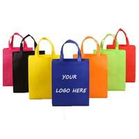 Large Durable Non Woven Grocery Shopper Tote