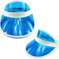 Plastic sun visor