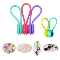 Silicone Magnetic Cable and Earbuds Winder