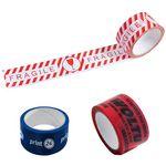 Custom 100 Meters Custom Printed Adhesive Tape For Packing