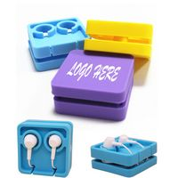 Square Silicone Earphone Organizer
