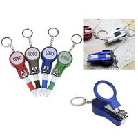 Multifunctional Nail Clipper Mirror With Ball-Point Pen