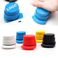 Plastic Paper Stapler / Staple Free Stapler
