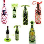 Custom Multi-function Silicone Wine Bottle Holder / Pot Mat