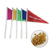 Small Polyester Hand Flags On Plastic Stick
