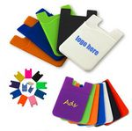 Custom Silicone Card Sleeve/ Phone wallet