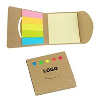 Note pads with colorful stickers