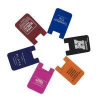 Silicone Adhesive Cell Phone Wallet