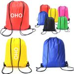 Custom Polyester Drawstring Backpacks