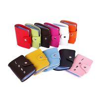 Durable Eco-friendly PU Leather Credit Card Bag