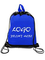 Reflective Non Woven Drawstring Backpacks