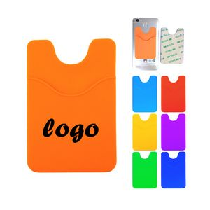 a640728b2f1 Promotional Product - Custom adhesive silicone phone wallet