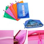 Custom PVC Waterproof Zippered Pencil Pouch