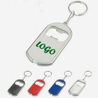 Flashlight Bottle Opener Keychain