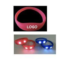 Silicone LED Light up Bracelet