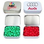 Custom Rectangular Hinged Mint Tin Box Small w/ Mints