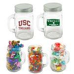 Custom Mason Mug Jar - Jelly Beans