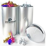 Custom Big Canister Tin Filled w/ Hard Candy 2.5 Lbs.
