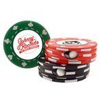 Custom Poker Chip Tin - Empty