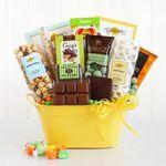Custom Sunburst Celebration of Sweets Gift Tub