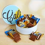 Custom California Delicious Signature Ghirardelli Tin Gift