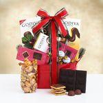 Custom Godiva Holiday Chocolate Gift Tin