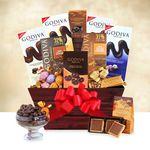 Custom Godiva Connoisseur Gift Basket