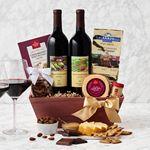 Custom Napa Valley Charm Gourmet Gift Basket