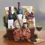 Custom Napa Valley Charm Gift Basket