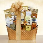 Custom Golden Gourmet Food Gift