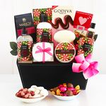 Custom Tiaré Rose Spa Gift Basket