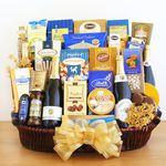 Custom Sparkling Celebrations Gourmet Basket
