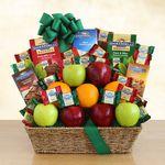 Custom Fruit and Ghirardelli Classic Gift Basket