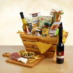 Custom Feast of Gourmet Rustic Crate Gift