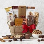 Custom Chocolate Delights Gift Basket