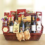 Custom Gourmet Deluxe Gift Basket