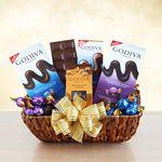Custom The Godiva Sampler Gift Basket