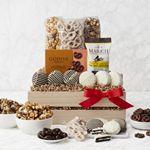 Custom Crunch Time Sweet Snacks Gift Basket